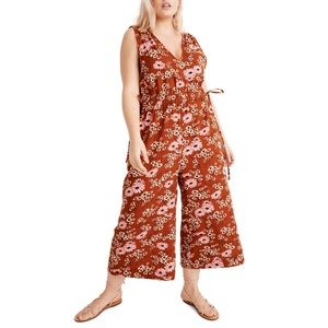 MADEWELL WAIKIKI FLORAL COVERUP JUMPSUIT 💖🌸